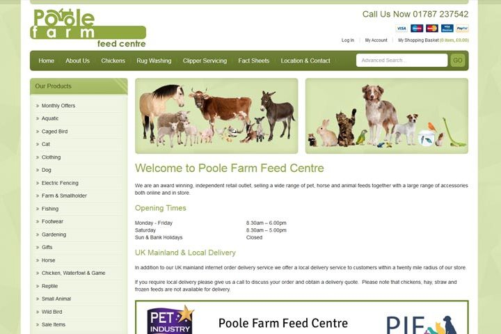 Poole Farm Feed Centre, Great Yeldham