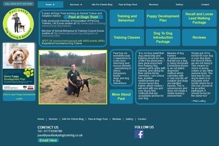 Paul Lasky Dog Training, South Woodham Ferrers