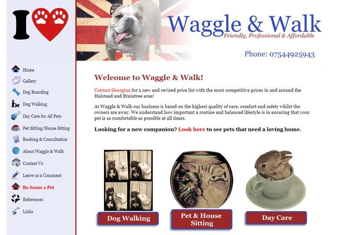 Waggle and Walk, Halstead