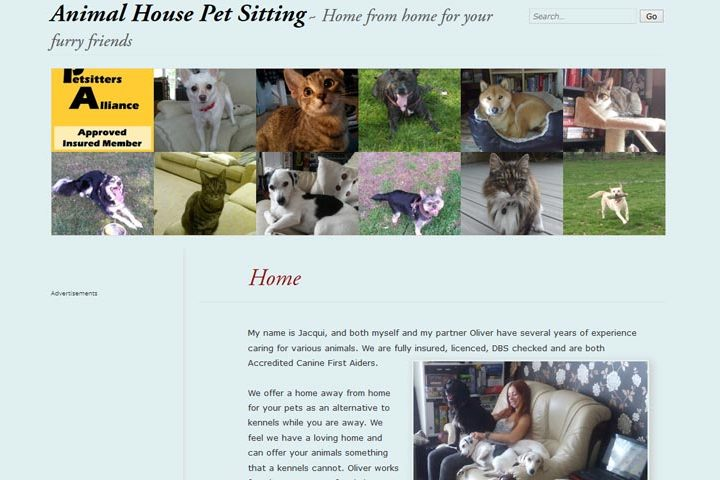 Animal House Pet Sitting, Basildon
