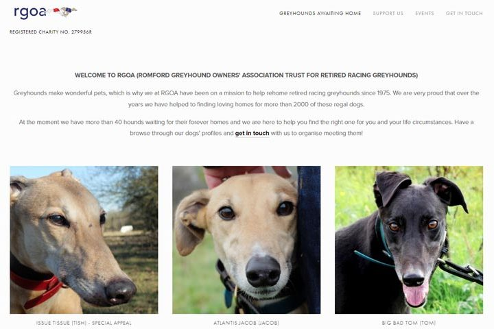 Romford Greyhound Homing Kennels, Brentwood