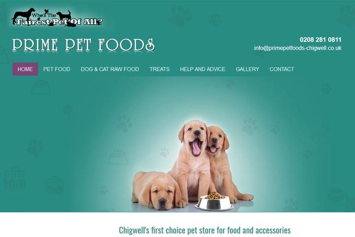 Prime Pet Foods, Chigwell